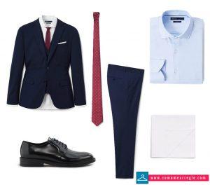 Look formal de boda para hombre