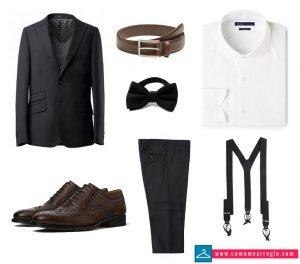 Look informal o casual de boda para hombre