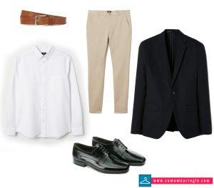 Look formal para cenas de empresa hombre