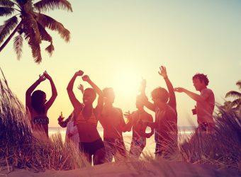 ¿Cómo me arreglo para una fiesta en la playa?
