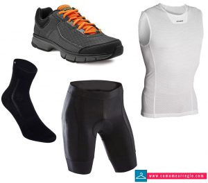 Outfit para clase de spinning Hombre