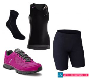 Outfit para clase de spinning