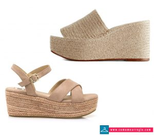 Zapatos para fiesta en la playa