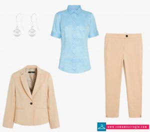 Outfit para webinar mujer