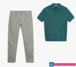 Outfit para videoconferencia online hombre